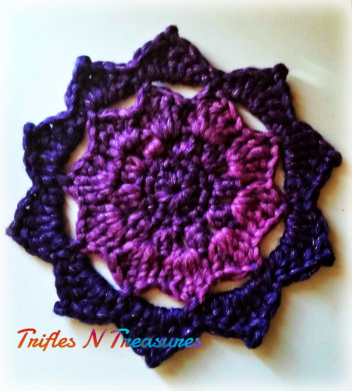 10 Point Mandala~Trifles N Treasures