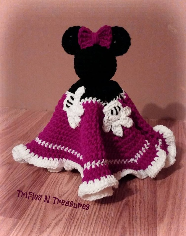 Magical Mouse Loveys Free Crochet Patterns Trifles Treasures