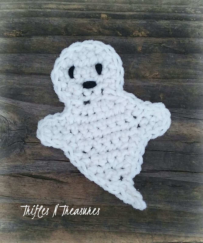 AHauntingGhostApplique~TriflesNTreasures