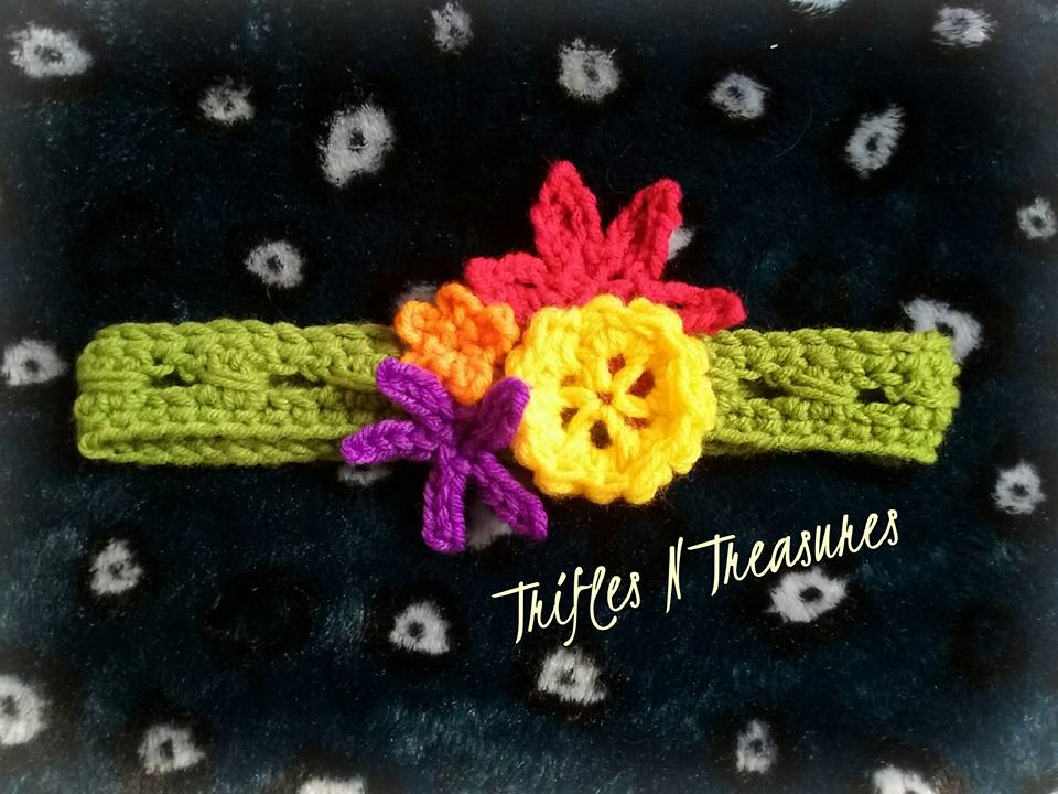 TropicalHairband~TriflesNTreasures